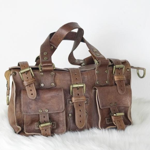 1158fc997a Mulberry Roxanne Camel Oak Leather Bag Purse. M 5bf0afce9539f7e910afeb0b